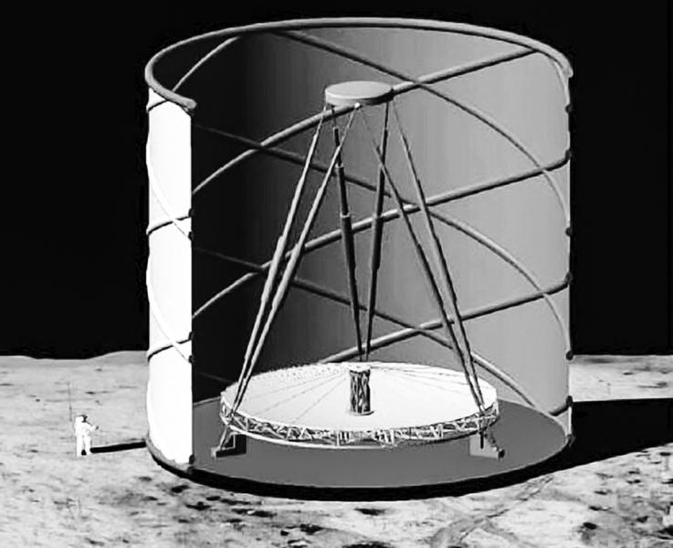 學家擬在月球建 終極巨型液體望遠鏡
