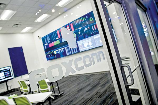 鴻海取得谷歌服務器合約 將在威斯康辛工廠組裝
