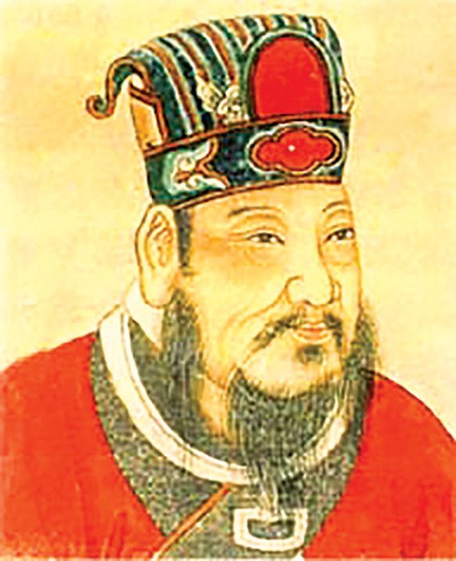 梁武帝蕭衍,南北朝時代南梁開國皇帝。(公有領域)