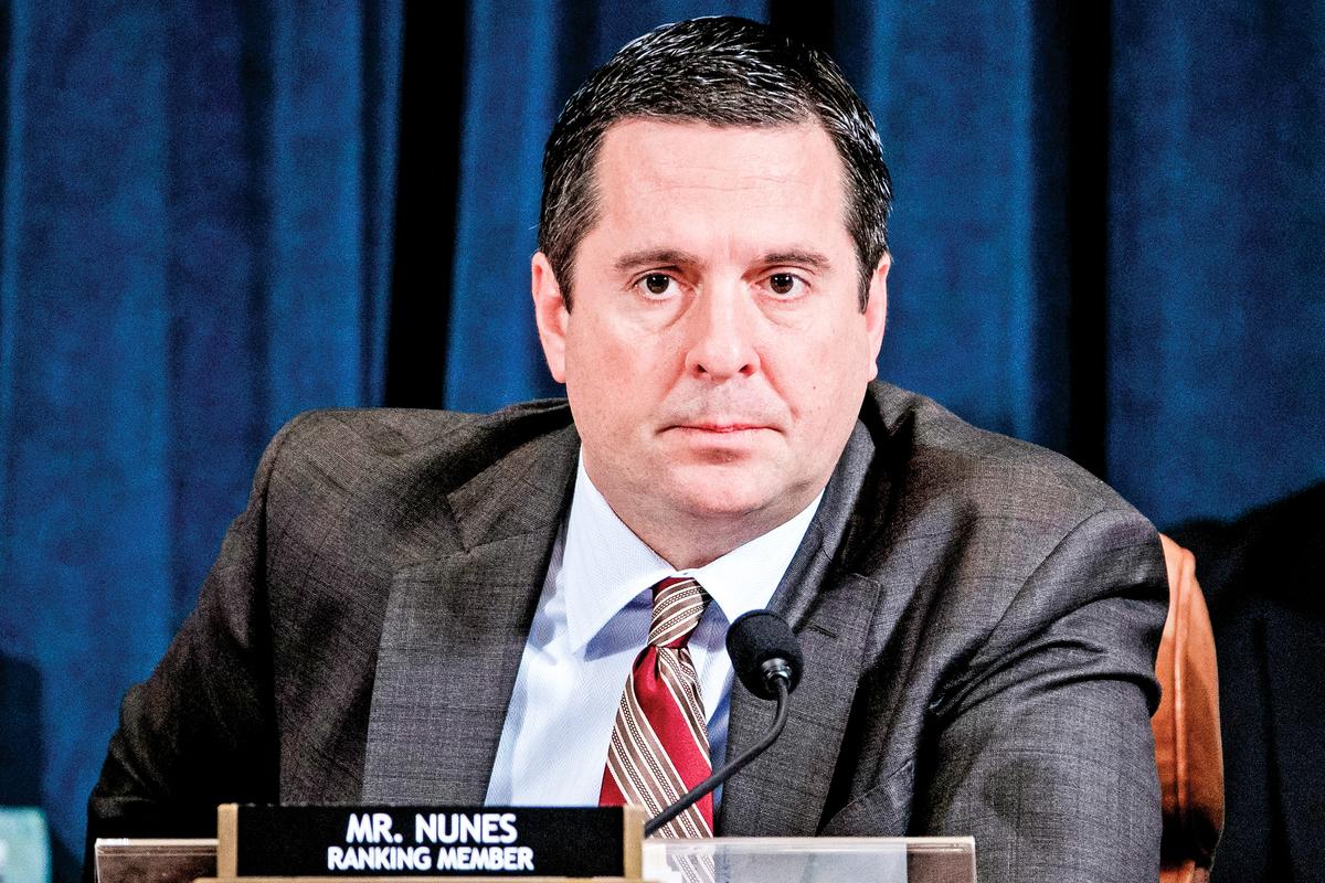 美國聯邦眾議員德文努涅斯(Devin Nunes)表示,媒體針對2020年美國大選在製造虛假敘事。努涅斯資料照。(SHAWN THEW/POOL/AFP via Getty Images)