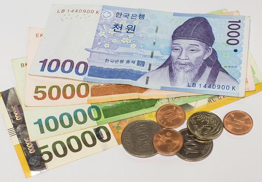 韓元升值 南韓人熱購美元理財