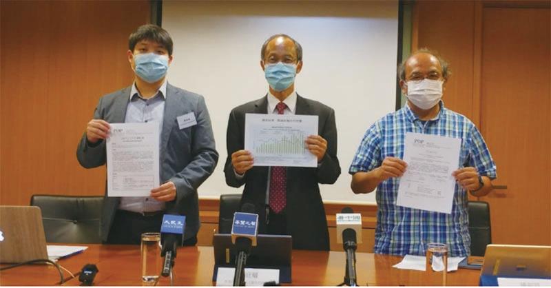 香港民研昨日公佈《施政報告》的即時調查結果,市民對《施政報告》評分僅為27.2分,為1999年有紀錄以來最差。(溫迪/大紀元)