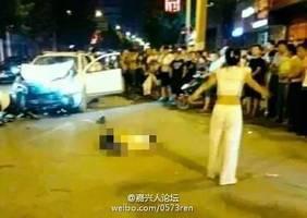 山東女司機撞飛路人後竟圍屍跳舞