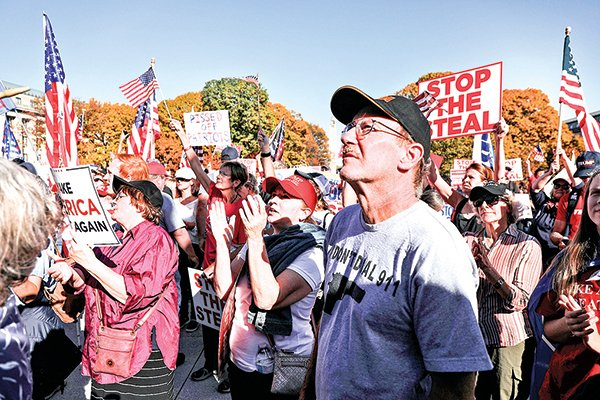 賓夕凡尼亞州自始至終一直被認為是本次大選的關鍵,特朗普在賓夕凡尼亞州的法律戰進展有巨大的象徵意義。(Getty Images)
