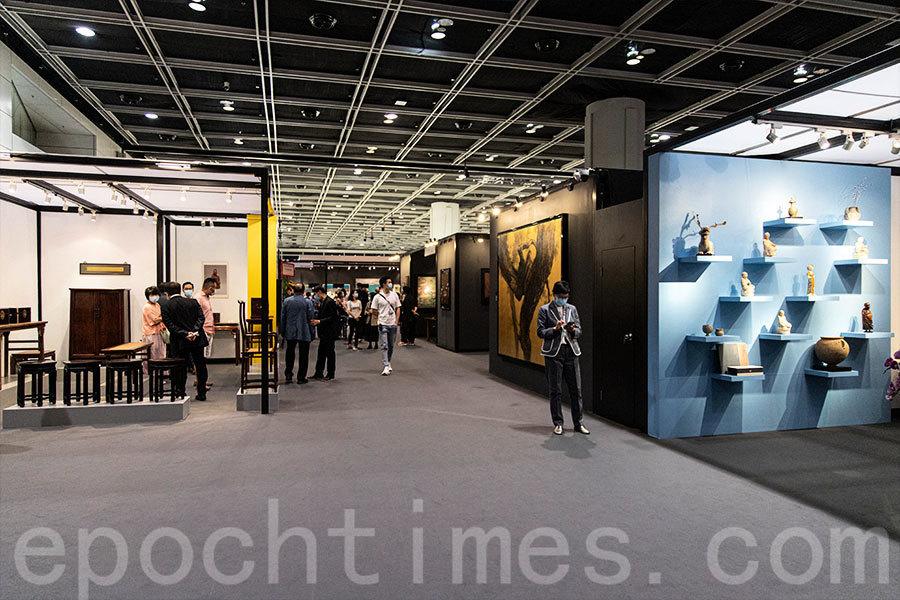 疫情下首個大型實體藝術博覽會開幕