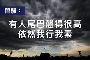 「慶親王」作者習驊發文:有人尾巴翹得很高