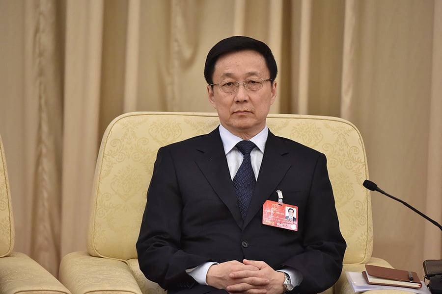 上海市是中共前黨魁江澤民的老巢,掌管上海市最高權力的「五人小組」已換四人。有分析認為,作為江派地方大員的市委書記韓正或被架空。(網絡圖片)