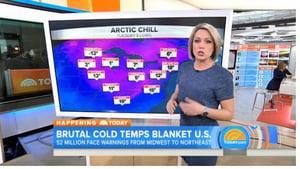極地寒流來襲 北半球冷颼颼