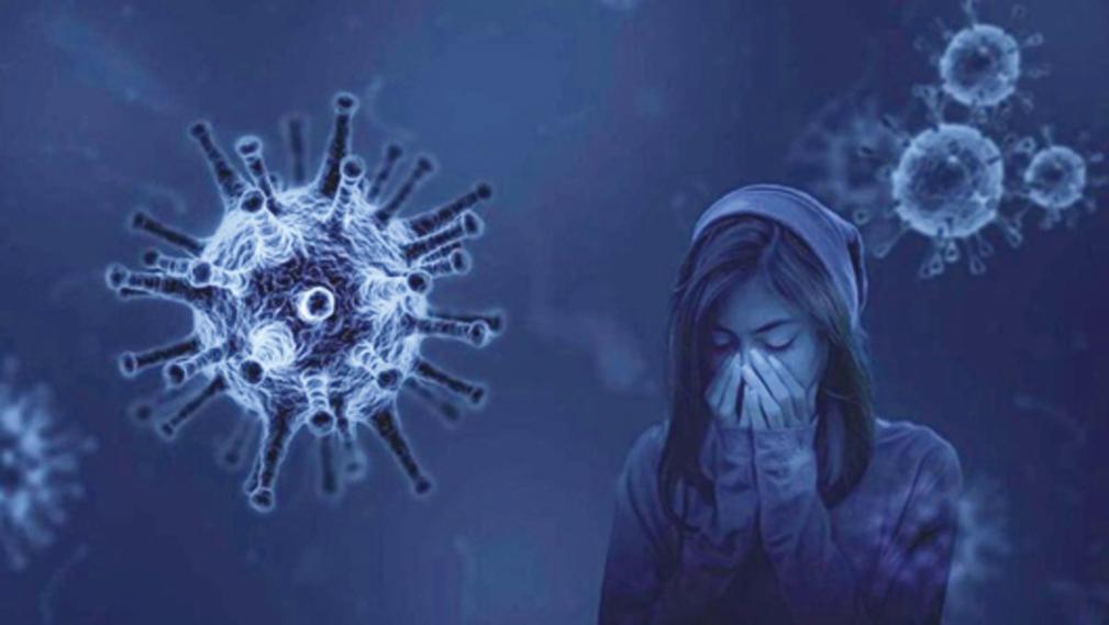 中共病毒(COVID-19)傳播示意圖。(pixabay.com)