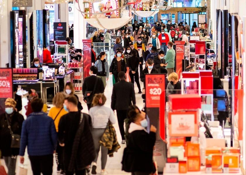 美國Black Friday網上銷售強勁 年增21.6%