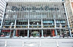《紐約時報》《華爾街日報》文章何其謬