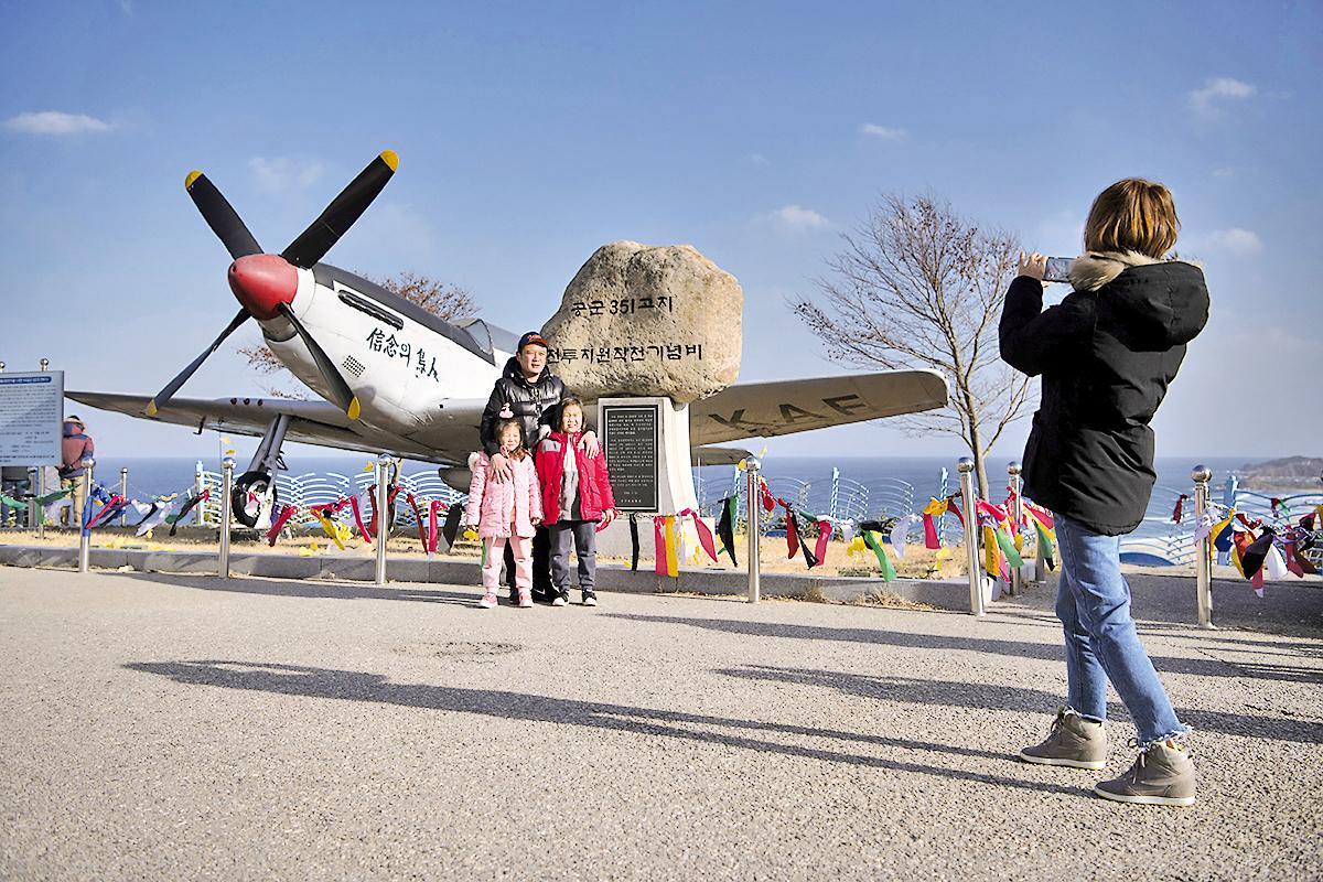 韓戰飛機。