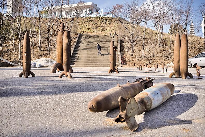 韓戰炮彈。