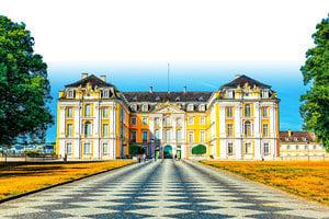 德國洛可可式的輝煌典範——德國奧古斯都堡(一)
