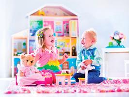 在家中創設兒童的快樂天地