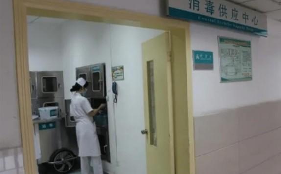 醫院配置的過氧乙酸消毒液超標,導致多名護士出現中毒反應。(網頁截圖)