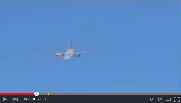 卡塔爾航空表示,該公司一架班機18日緊急迫降在土耳其伊斯坦布爾阿塔圖克機場。(視像擷圖)