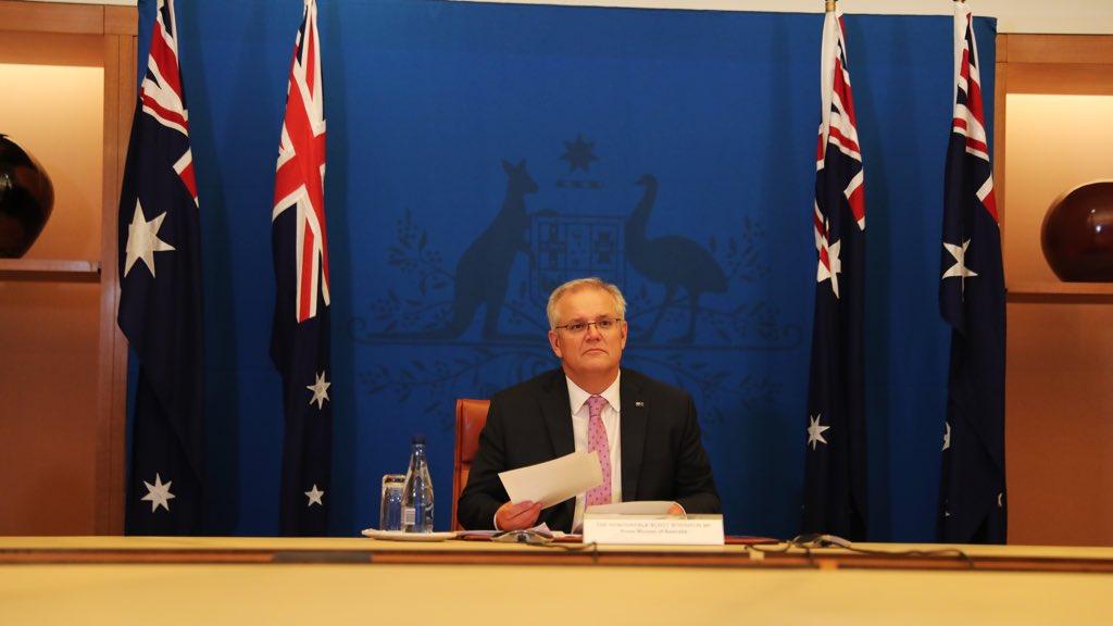 澳洲總理莫里斯(來自莫里斯推特)