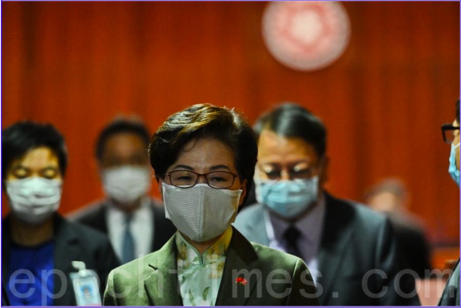 林鄭及港府的最新民調 逾四成人給予零分