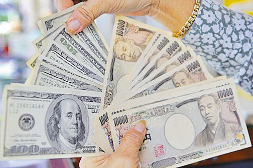 美元指數看跌和日圓看升