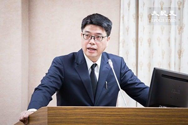 台灣陸委會發言人邱垂正。(大紀元資料圖片)