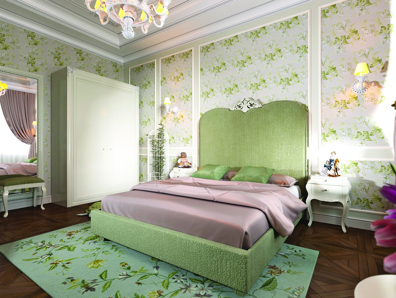 有特色的床頭板可以改變室內空間的風格。