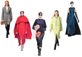 秋冬女裝七大流行元素 實用與時尚並重