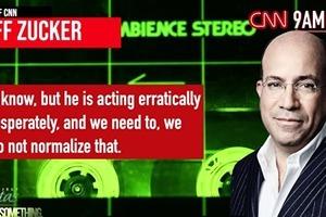 CNN晨會錄音續集:不能把特朗普當正常人報道