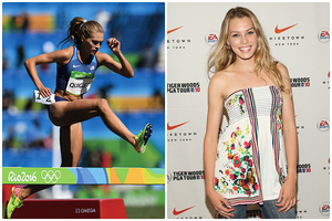 美麗超模勇登奧運三千米障礙賽