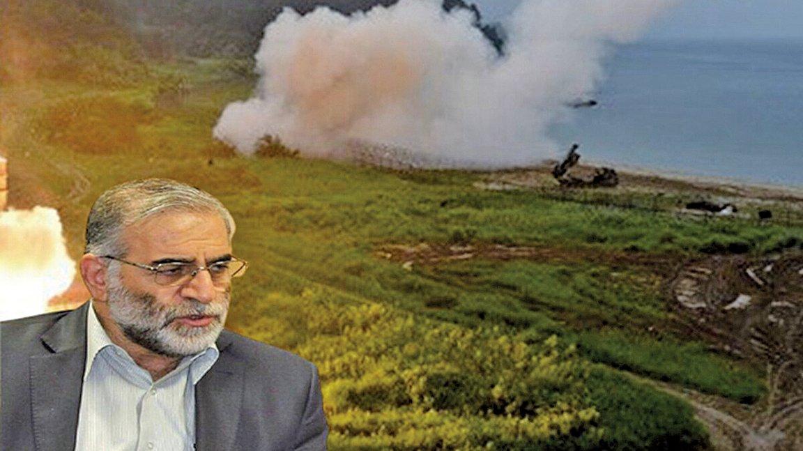 11月27日,被稱為伊朗「核武之父」的首席核子科學家法克里薩德(Mohsen Fakhrizadeh)被遙控武器射擊身亡。圖為示意圖。.(大紀元合成圖片)