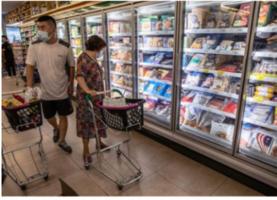 日媒:中共炒作進口冷凍食品含病毒 或甩鍋病毒源頭