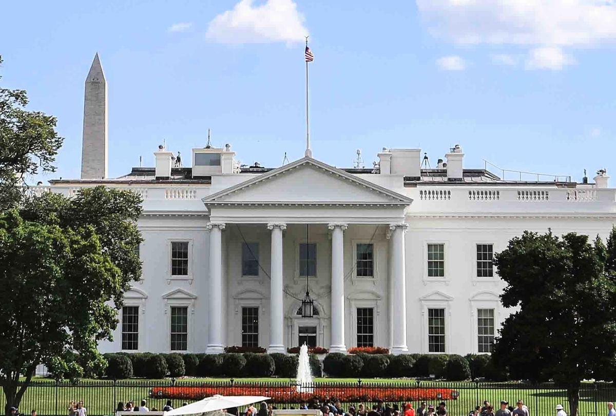 圖為美國白宮。(Samira Bouaou/大紀元)