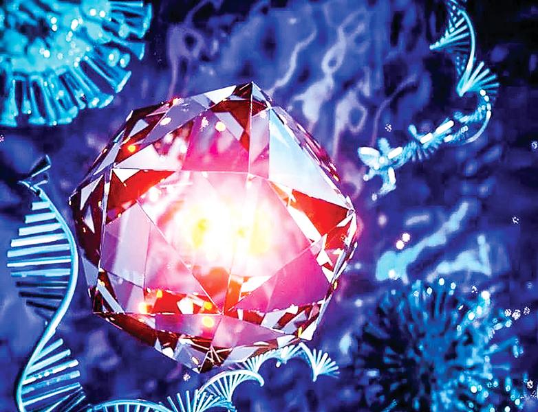 納米鑽石助及早 檢測愛滋病和中共肺炎