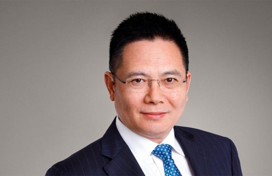 紫荊黨創黨人之一、全國政協及瑞士信貸集團董事李山。(CREDIT SUISSE網頁截圖)