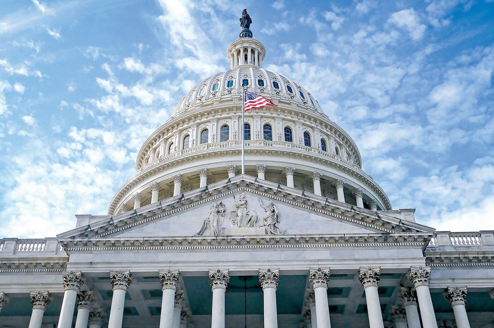 美國眾議院於12月7日通過《香港人民自由和選擇法案》,提供受政治迫害的港人「臨時保護身份」。圖為美國國會大廈。(大紀元資料圖片)