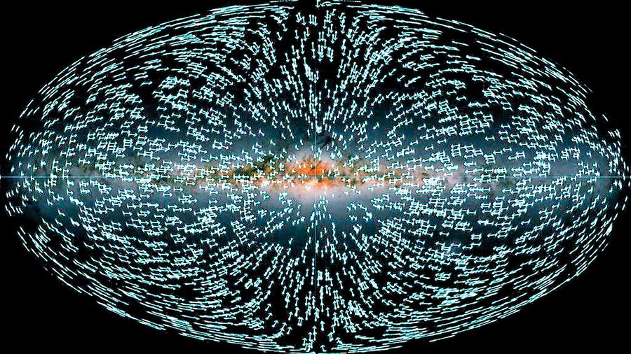 測出太陽系加速度