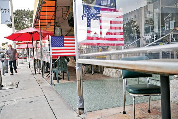 今年以來美11萬餐館或長期關閉