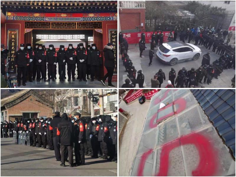 【一線採訪】寒冬下北京昌平香堂村萬人將迫宿街頭