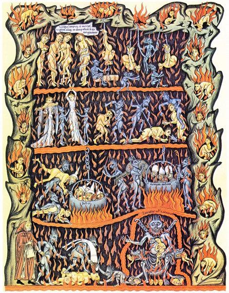 但丁《神曲》故事 欺詐——毒害世界的怪物
