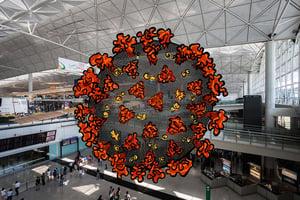 香港機場警區再增兩例 累積有五名警員染疫