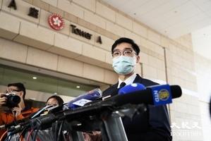 陳浩天今西九龍出庭  襲警和非法集結罪不成立