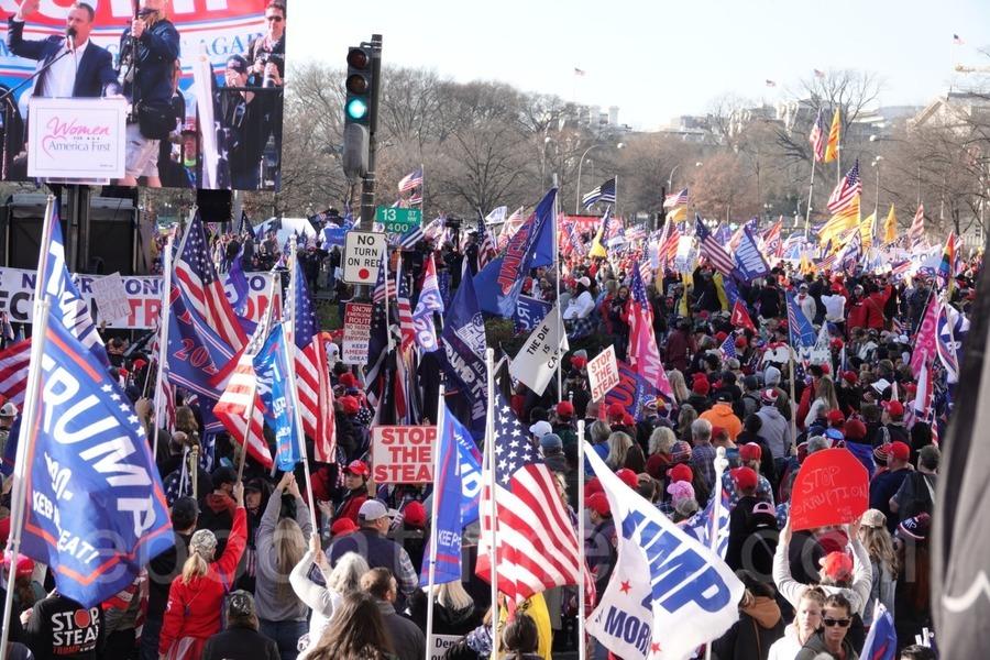 美民眾華府大遊行抗議大選舞弊 反對中共介入