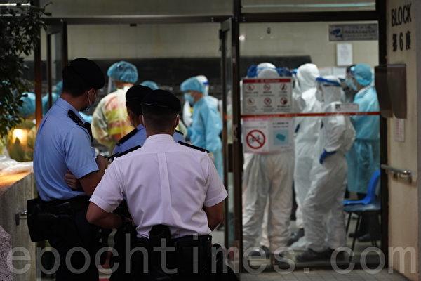 香港周日新增95宗中共病毒確診個案,當中3宗為輸入個案,92宗本地個案。41宗屬源頭不明,是第四波疫情以來單日最多源頭不明個案數。(大紀元資料圖片)