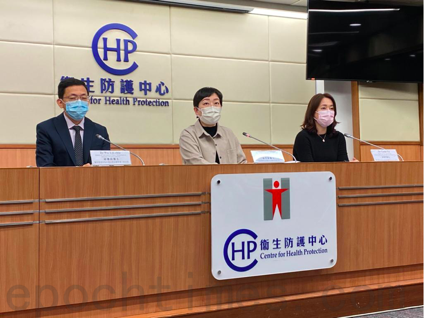 衛生防護中心12月14日公佈,新增82宗中共病毒確診個案。(霄龍/大紀元)
