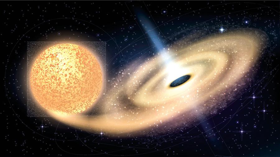 黑洞悖論接近有解 信息可以從黑洞逃逸