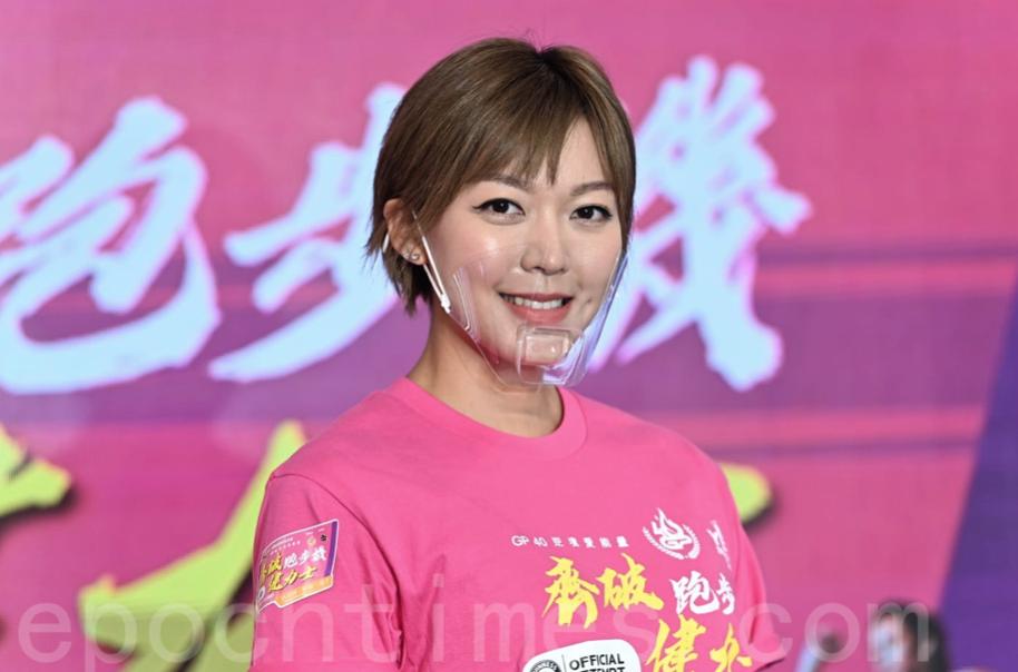 香港全職模特兒兼跑步與健身教練梁諾妍。(宋碧龍/大紀元)