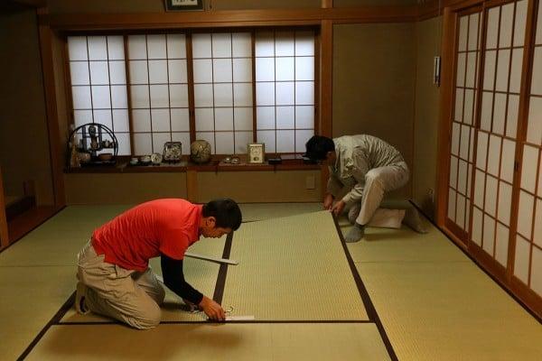 越來越多的中國人喜歡上了日本的傳統榻榻米地板。(Getty Images)