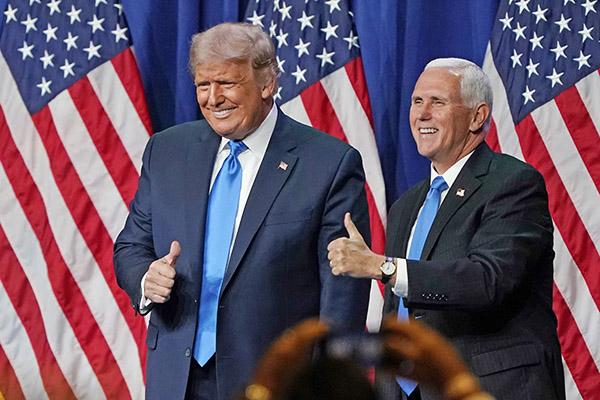 五搖擺州同時出現雙投票 共和黨選舉人投票給特朗普