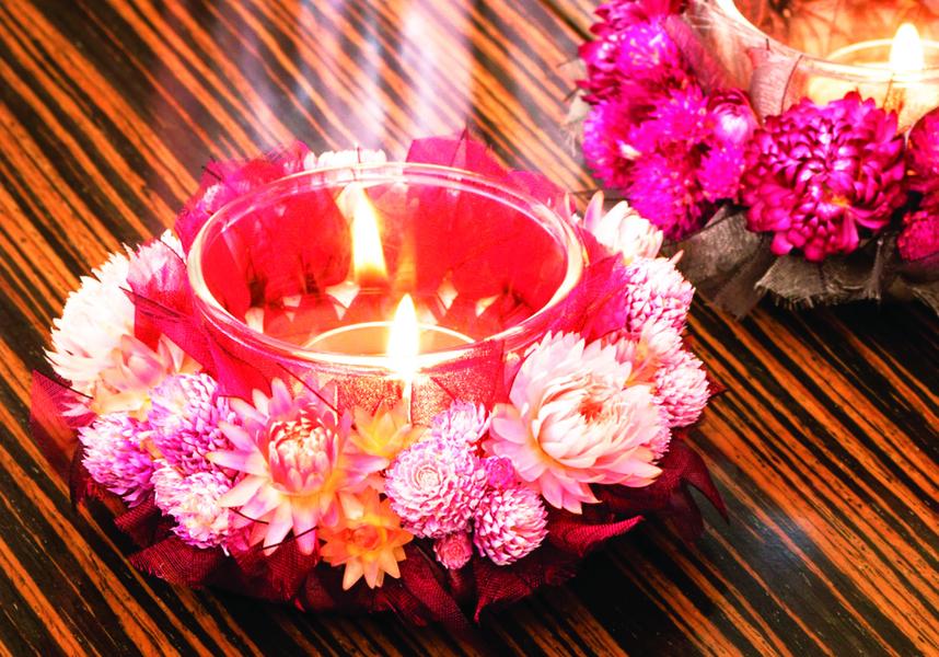 手作蠟燭香氛 營造紓壓的療癒時光