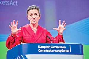 歐盟公佈數碼新規草案 科企面臨巨額罰款及拆分